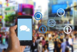 Smartphone als Kommunikationszentrale