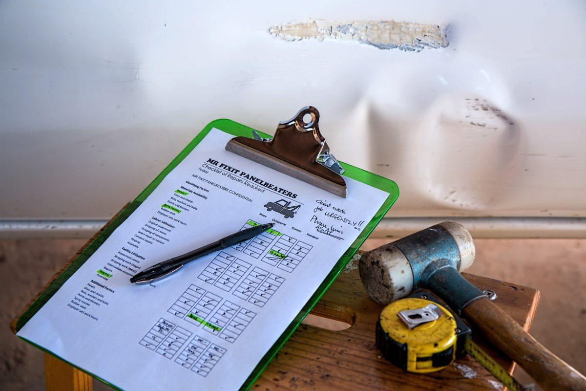 Checkliste und Werkzeuge