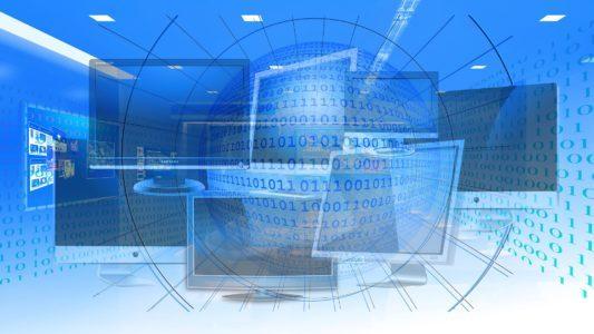 Monitore, Binärzahlen und Radialraster